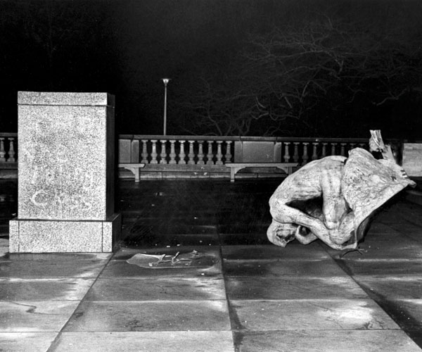 1970: An Unknown Assailant Bombs Rodin's Sculpture
