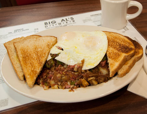 Big Als Corned Beef Hash