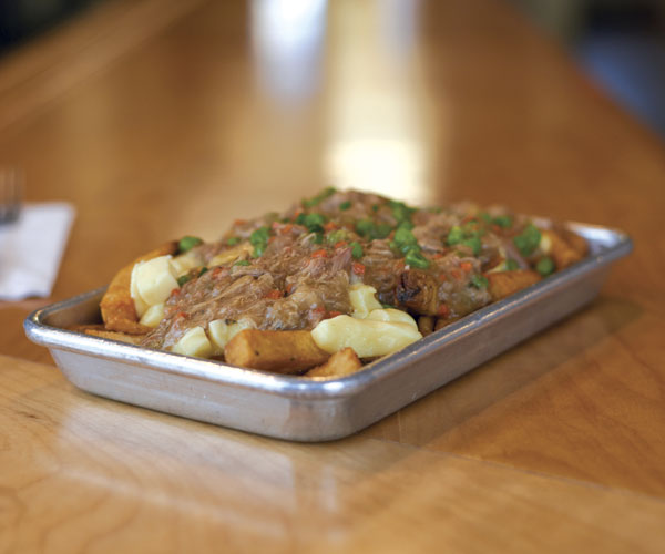 Banter Rabbit Stew Poutine