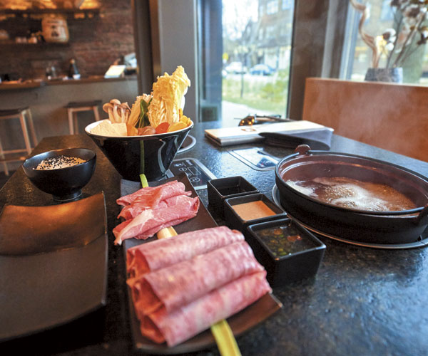 Tremont's Ushabu Lets You Be Your Own Chef