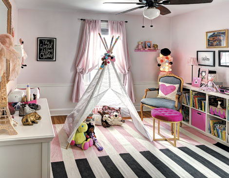 Shaker Heights Kids' Room