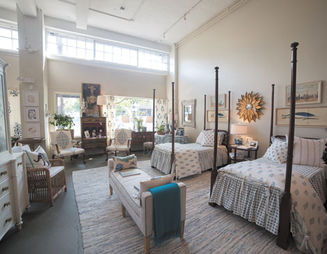 . New and Vintage Furniture Have a Place at Pavilion Home and Floral