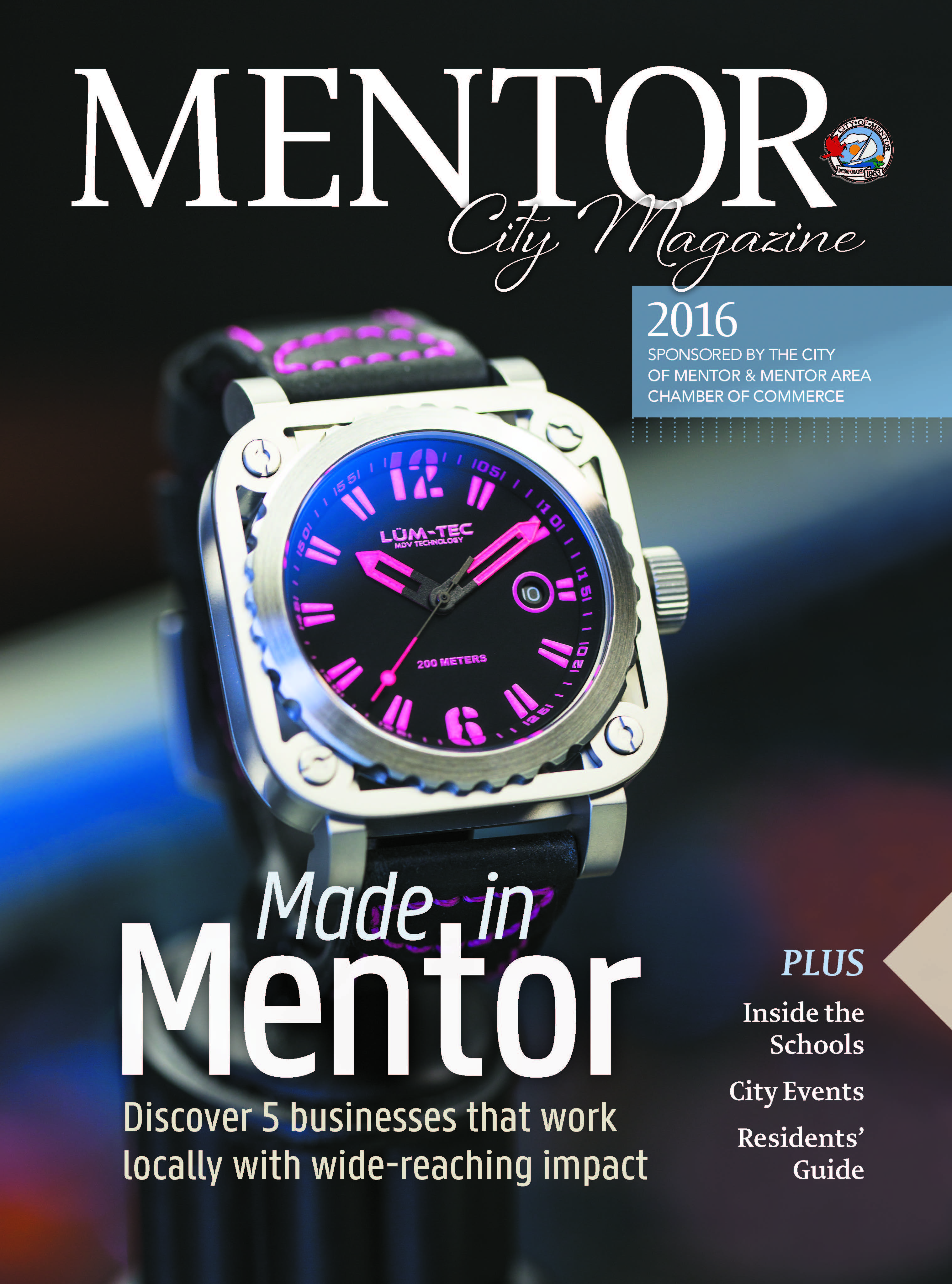 2016 Mentor Cover