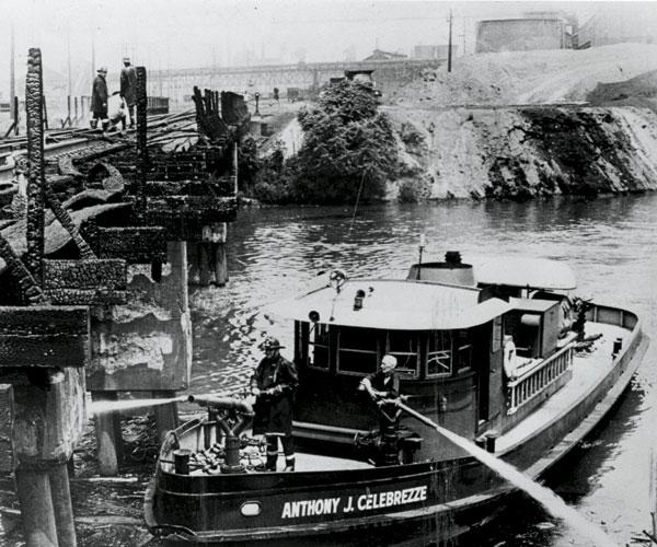 Cuyahoga River Fire 1969  Thumb