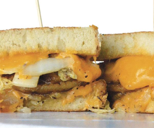 Melt Bar & Grilled's Parmageddon