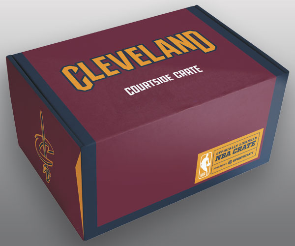 We Unbox Sports Crate's Cleveland Cavaliers Subscription Box
