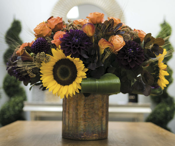 Yes, You Can Craft A Colorful Fall Bouquet
