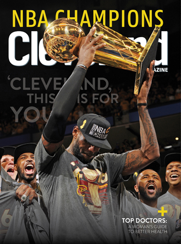 LeBron James Cavs August 2016 Cover