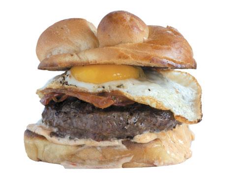 Luxe Kitchen & Lounge's Bison Burger