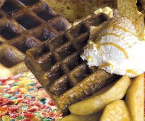 Waffles, Pancakes and More