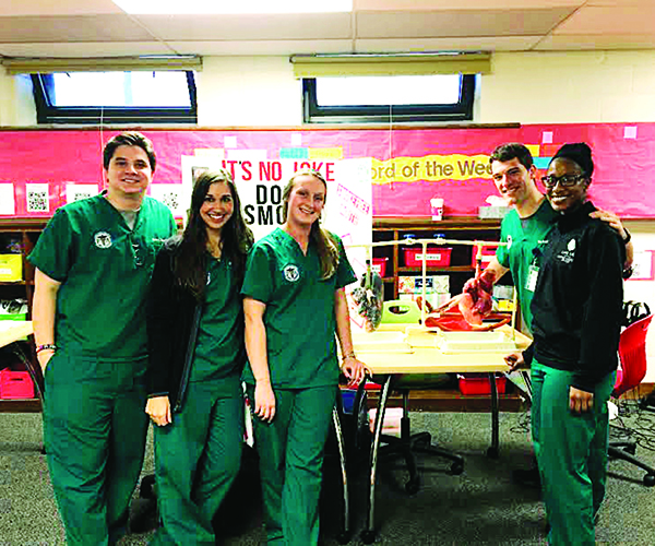 Lake Erie College Students Focus on Oral Health