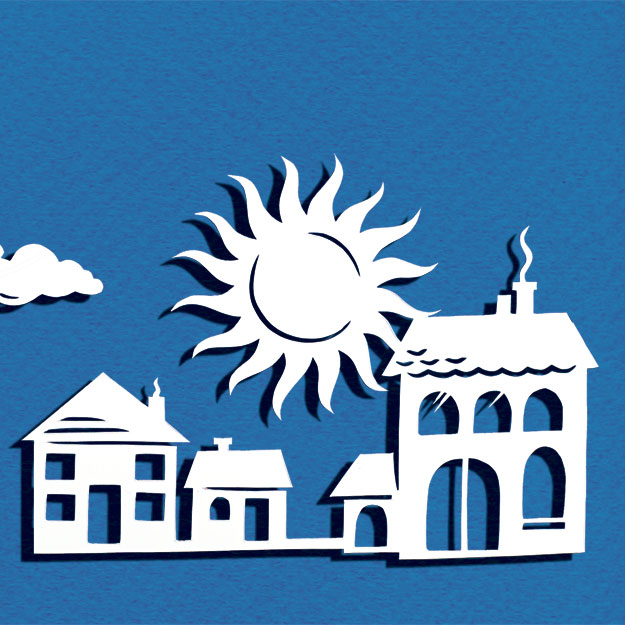 Rating the Suburbs Illustration