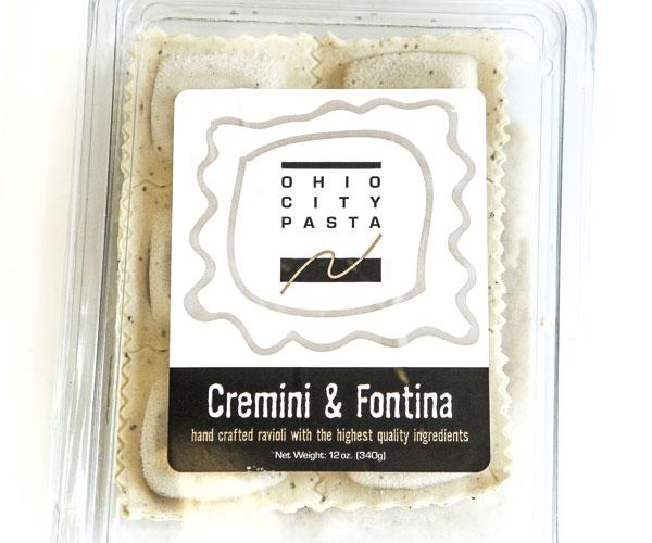 Ohio City Pasta's Cremini & Fontina