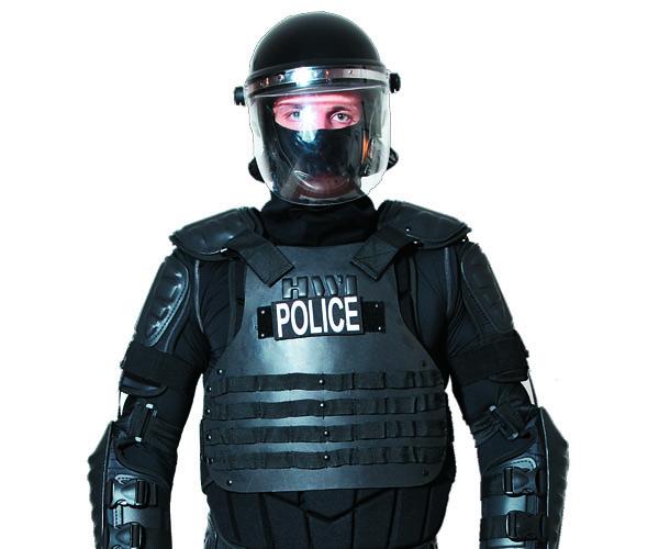 Cleveland Police Riot Uniform