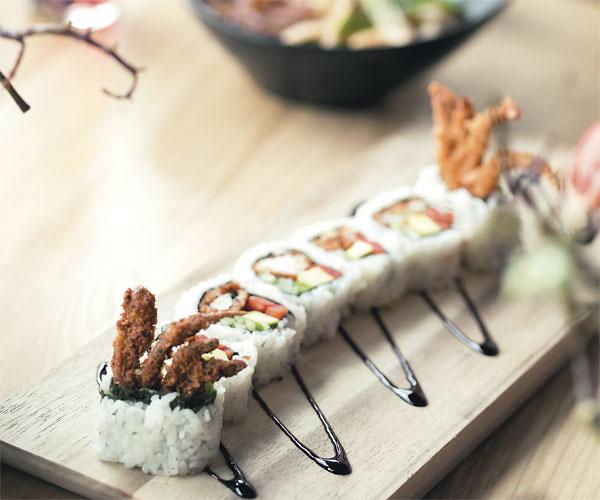 Sushi Roll at Voodoo Tuna