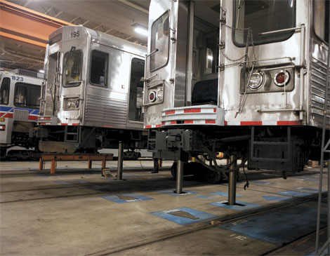 Greater Cleveland Regional Transit Authority's Rail Garage