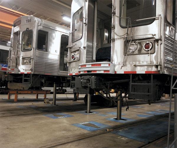 Greater Cleveland Regional Transit Authority's Rail Garage