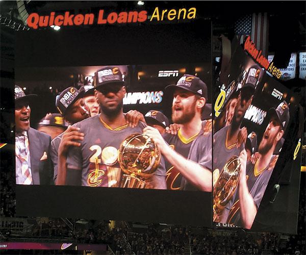 Cavaliers Winning