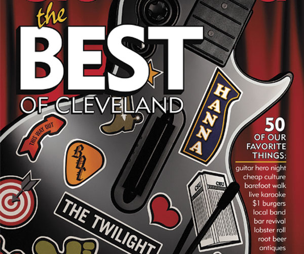 Best of Cleveland Cover 2008
