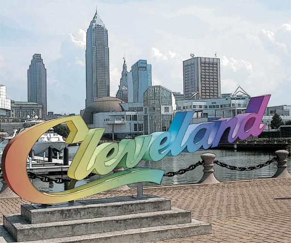 Cleveland Sign Pride