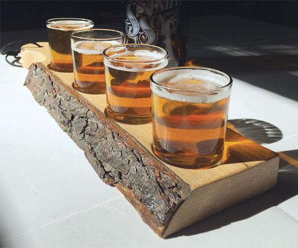 Fourth Coast Beer Flight