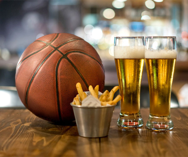 Basketball and Fries