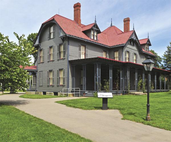 James A. Garfield Mentor Home