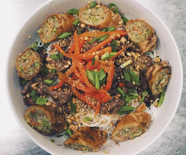 Bac Asian American Bistro & Bar Noodle Salad