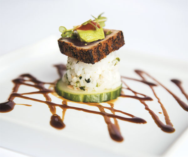 Square Bistro's Blackened Tuna Bites