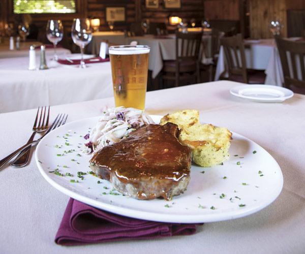 Cabin Club pork chop