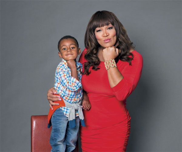 Kym Whitley and Son Joshua