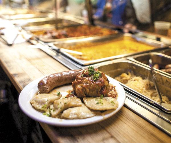 Sokolowski's Kielbasa, Stuffed Cabbage and Pierogies