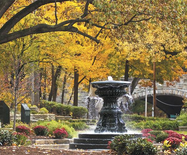 Cleveland Cultural Garden's Irish Garden