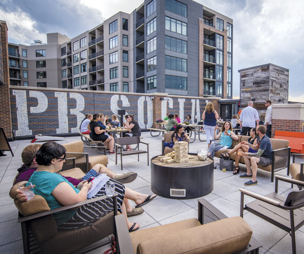 Punch Bowl Social Rooftop Patio