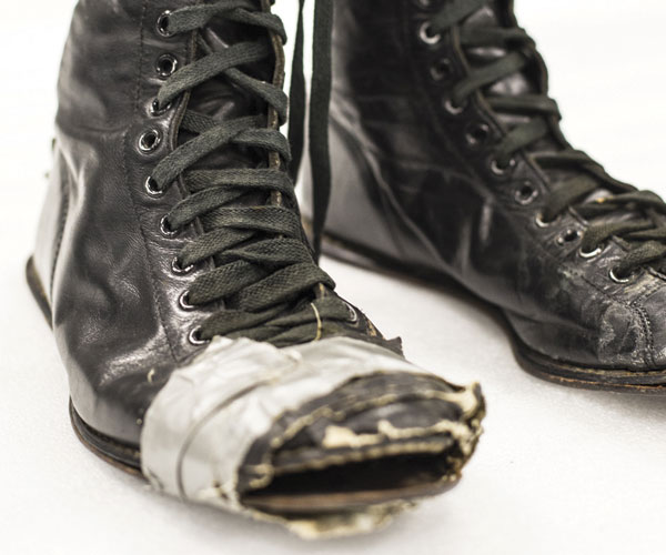 Rock Hall Patti Smith boots