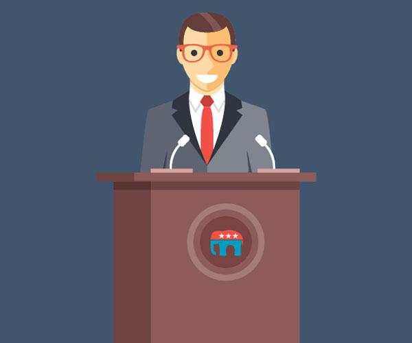 Political Speaker