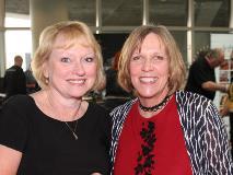 Cyndi Martony and Linda Siegel