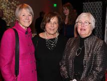 Susan Jaros, Barbara Galvin and Becky Dunn