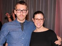 Robert Dakin and Megan Reich